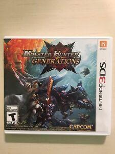 Monster Hunter Generations 3ds