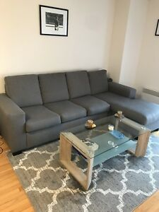 Brand New Sectional Sofa and Coffee Table ( NO NEGOTIATION)