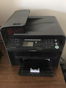 5 in 1 black and white printer (plus case of paper)