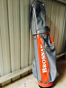 Must sell: Brosnan golf bag and complete set of quality irons Stirling Adelaide Hills Preview