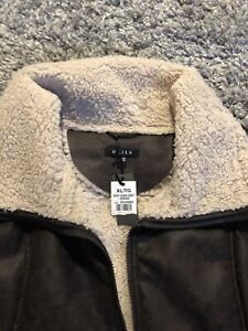 Women's winter coat jacket XL Dark Brown BNWT