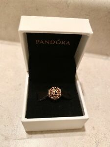 New Pandora Rose Gold Open Hearts Charm