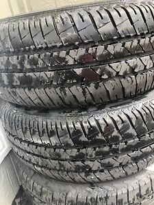 2 firestone and 2 solus tires basically new