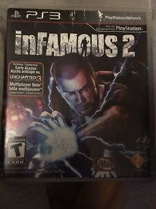 Ps3 games resident evil 5$6, infamous 2