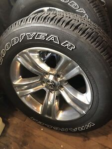 2017 Dodge Ram Rims and tires