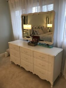Andrew Malcolm French Provincial 5 piece bedroom suite