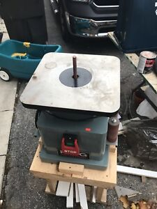 KING KC-OVS-TL BENCHTOP SPINDLE SANDER