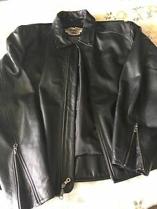 Men's HD leather jacket