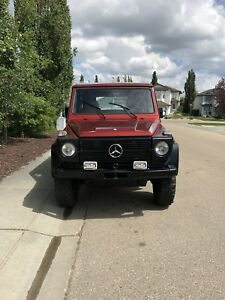 Mercedes G wagon W460