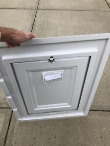 Skirting access door panel