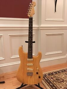 Custom Rear-Routed Strat