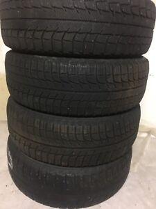 4-185/65R15 Michelin winter tires