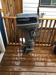 20 HP Evinrude outboard