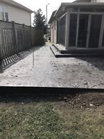 Concrete, Fencing and more!