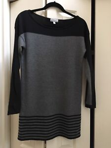 Black and White tunic, small size