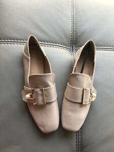 New nude loafers