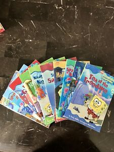 10 SpongeBob Squarepants Reading Books great condition
