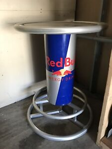 Red Bull metal bar stand table  ***Very Rare***