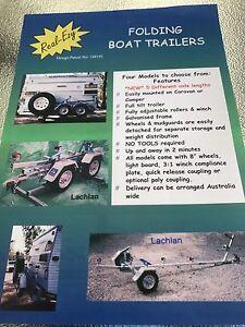 WTS fold up boat trailer Warrnambool Warrnambool City Preview