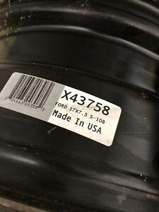 "17"" Steel Rims 5x108 17x7.5"