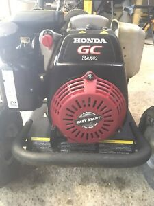 Honda 300psi pressure washer