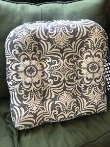 2  Wicker Chair Cushions (NEW)