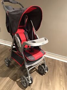 Red avalon stroller