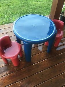 Little Tikes table and chair set