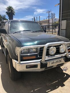 1996 land cruiser 80 series Wingfield Port Adelaide Area Preview