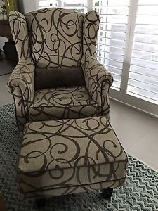 Arm chair and ottoman Botany Botany Bay Area Preview