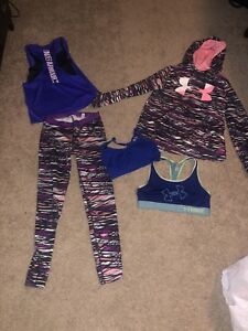 Under armour girls 12-14 brand new condition...
