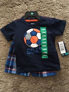 Brand New 18 Month Boy Outfits.