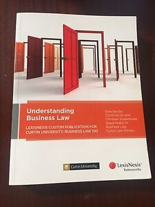 Understanding Business law Curtin bachelor of commerce Warwick Joondalup Area Preview