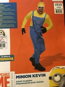 minion costume for men one size fits most
