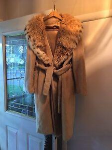 Vintage fur coat size medium-large