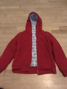 Girls Red sweater jacket