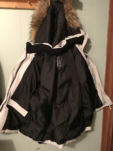 Sears women's winter down fill jacket, was originally $220.