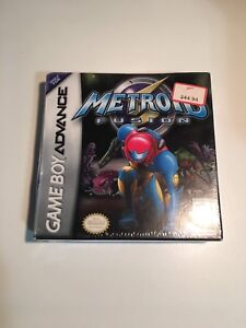 Metroid Fusion (GBA) Gameboy Advance Game (Factory Sealed New)