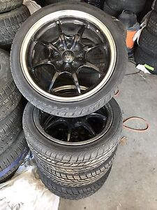 Rota rims w/Brandnew tires 205/40/17