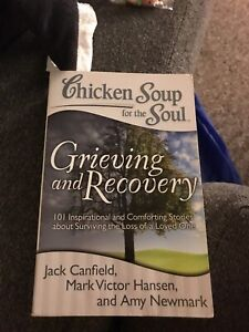 Grieving in recovery from chicken soup for the soul book