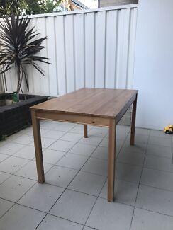 Jokkmokk Ikea Table solid wood