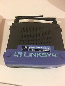 Linksys Wireless AP access point and 4 port switch