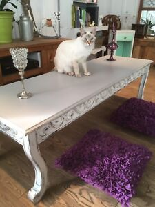 Grande table basse antique
