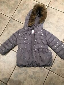 4t girls winter jacket