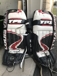 Louisville tps ball hockey goalie pads