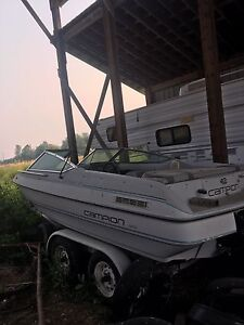17 foot campion, open bow, ski boat