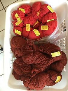 3 ply Briggs and Little yarn