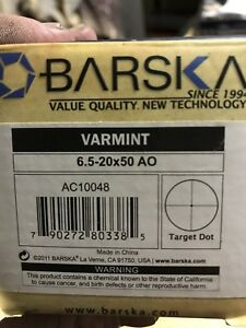 Barska varmint scope