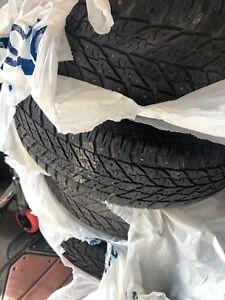 "16""winter tires on wheels"