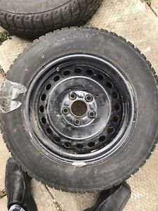 15 inch rims with snow tires